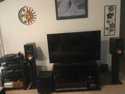 Old School Meets New Two Channel Stereo System